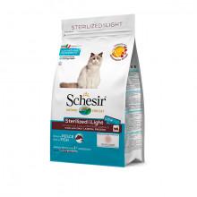 Schesir Sterilized & Light - Morské ryby s ryžou 400g Agras Delic - 1