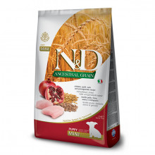 Farmina N&D Dog LG Puppy Mini - Chicken & Pomegrante 2,5 kg Farmina N&D - 1