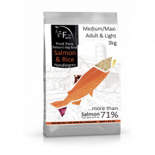 Fresh Farm Adult Medium/Maxi Light - Salmon & Rice 3kg Fresh Farm - 1
