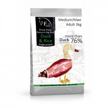 FFM Duck&Rice Adult Maxi Intolerance Fresh Farm - 1