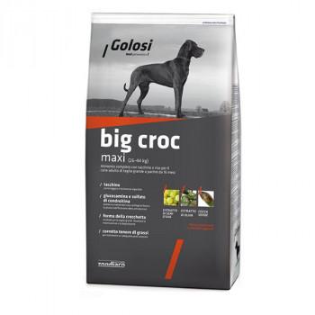 Golosi Big Croc - Kuracie a morčacie s ryžou 3kg Zoodiaco - 1