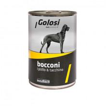 Golosi Bocconi - Kuracie a morčacie s ryžou 400g Zoodiaco - 1