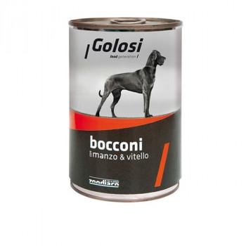 Golosi Bocconi - Hovädzie a teľacie s ryžou 400g Zoodiaco - 1