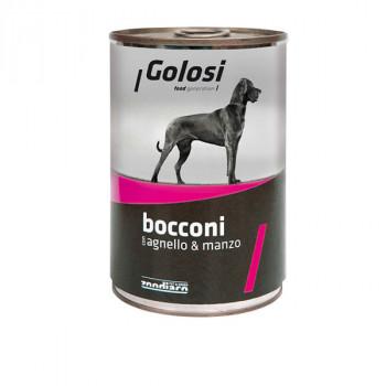 Golosi Bocconi - Jahňacie a hovädzie s ryžou 400g Zoodiaco - 1