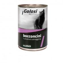 Golosi Bocconcini - Kačacie a zverina s ryžou 400g Zoodiaco - 1