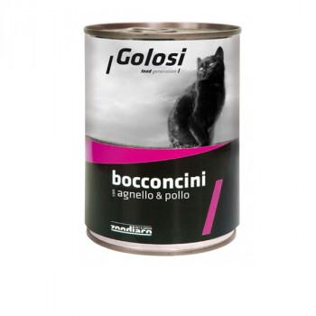 Golosi Bocconcini - Jahňacie a kuracie s ryžou 400g Zoodiaco - 1
