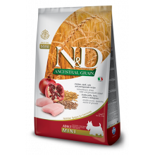 Farmina N&D Dog Low Grain Adult Mini Chicken & Pomegranate 2,5 kg Farmina N&D - 1