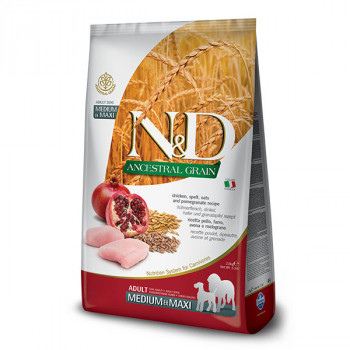 Farmina N&D Dog LG Adult Medium&Maxi Chicken & Pomegranate 2,5 kg Farmina N&D - 1
