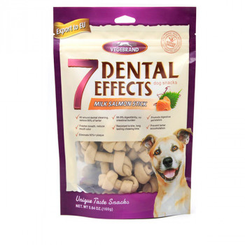 Vegebrand 7 Dental Effects - Mliečno lososové uzlíky 160g Vegebrand - 1