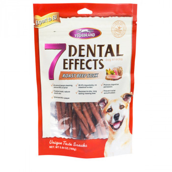 Vegebrand 7 Dental Effects - hovädzie paličky 160g Vegebrand - 1