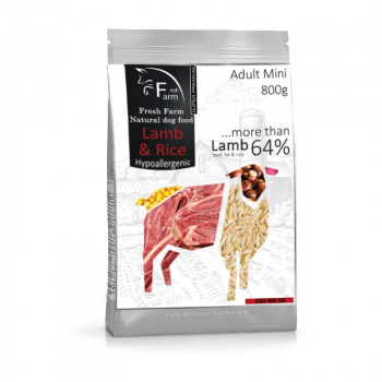 Fresh Farm Adult Mini - Lamb & Rice 800g Fresh Farm - 1