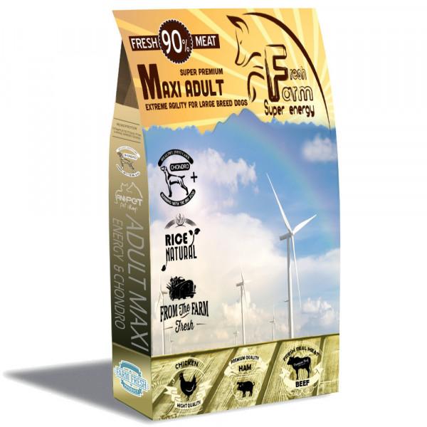 Fresh Farm Adult Medium&Maxi Energy Plus 20kg Fresh Farm - 1