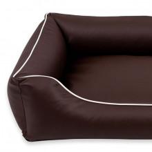 Sofa Alicante Pelech Comfort - Tmavohnedá farba Ani - pet - 2
