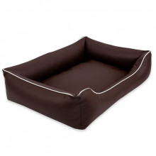 Sofa Alicante Pelech Comfort - Tmavohnedá farba Ani - pet - 3