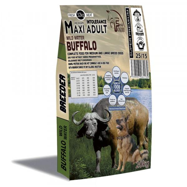 Fresh Farm Buffalo Adult Medium&Maxi Intolerance 20kg Fresh Farm - 1