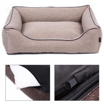 Sofa Mallorca Comfort - béžová farba Ani - pet - 1