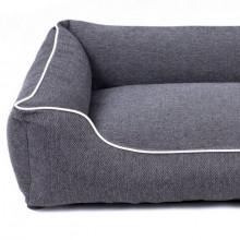 Sofa Mallorca Pelech Comfort - tmavošedá farba Ani - pet - 2