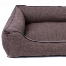 Sofa Mallorca Pelech Comfort - hnedá farba Ani - pet - 2