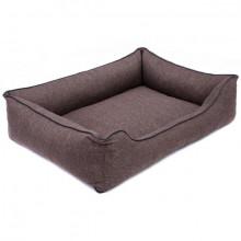 Sofa Mallorca Pelech Comfort - hnedá farba Ani - pet - 3