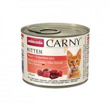 Carny Kitten - Hovädzie + morčacie srdcia 400g Animonda - 2