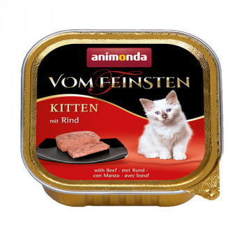 Vom Feinsten Kitten - Hovädzie 100g Animonda - 1