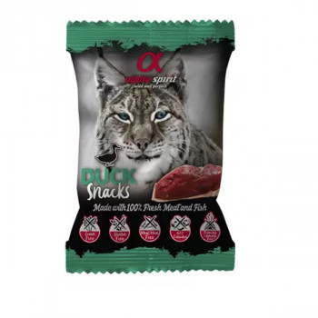 Alpha Spirit Snack Cat - Kačacie 50g Alpha Spirit - 1
