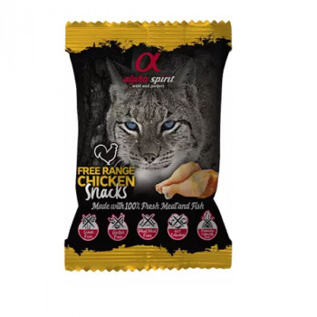 Alpha Spirit Snack Cat - Kuracie 50g Alpha Spirit - 1