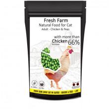 Fresh Farm Cat Adult - Kuracie s hráškom 550g Fresh Farm - 2