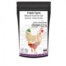Fresh Farm Cat Sterilized - Kuracie 550g Fresh Farm - 1