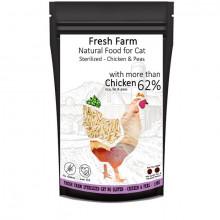 Fresh Farm No Gluten Cat Sterilized - Kuracie s hráškom 550g Fresh Farm - 2