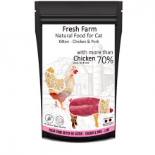 Fresh Farm No Gluten Kitten - Kuracie a bravčové 550g Fresh Farm - 2