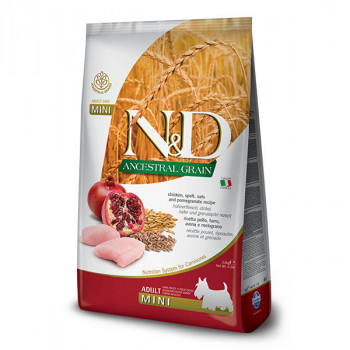 Farmina N&D Dog Low Grain Adult Mini Chicken & Pomegranate 0,8 kg Farmina N&D - 1