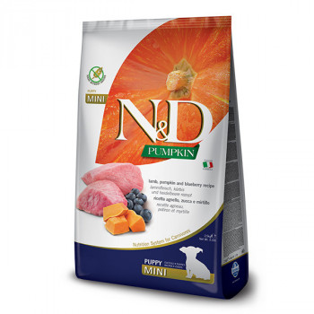 copy of N&D Pumpkin Puppy Mini - Lamb & Blueberry 2,5kg Farmina N&D - 1