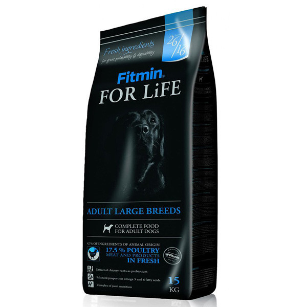 Fitmin dog For Life Adult Large 15kg Dibaq Fitmin - 1