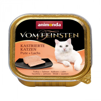 Vom Feinsten Sterilized - Morka a losos 100g Animonda - 1