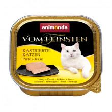 Vom Feinsten Adult Kastrát - Morka a syr 100g Animonda - 1