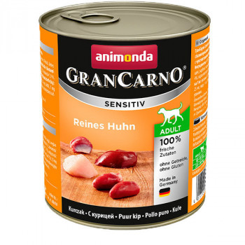 GranCarno Sensitiv Adult - Kuracie 800g Animonda - 1