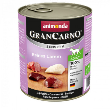 GranCarno Sensitiv Adult - Jahňacie 800g Animonda - 1