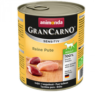 GranCarno Sensitiv Adult - Morčacie 800g Animonda - 1