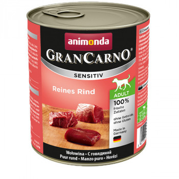 GranCarno Sensitiv Adult - Hovädzie 800g Animonda - 1