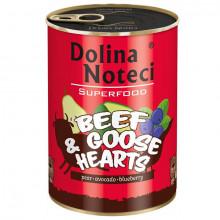 Dolina Noteci Superfood - Hovädzie a husacie srdcia 400g DNP S.A. - 1