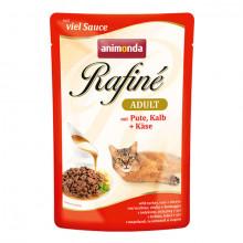Rafiné Adult - Morčacie, teľacie a syr 100g Animonda - 1