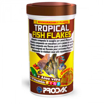 Tropical Fish Flakes - 10g Prodac - 1