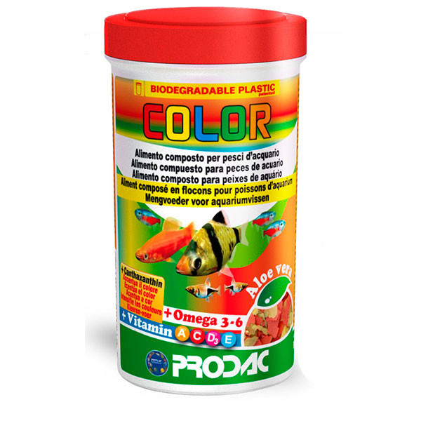 Color Vegetable Flakes - 20g Prodac - 1