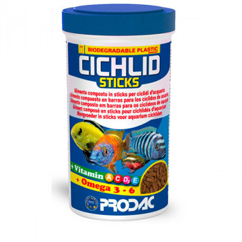 Cichlid Sticks - 90g Prodac - 1