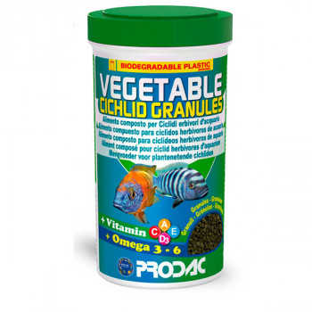 Vegetable Cichlid Granules - 100g Prodac - 1