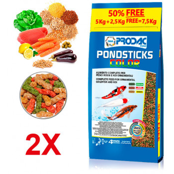 Pondsticks Color - 7,5kg Prodac - 1