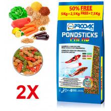 Pondsticks Color - 7,5kg Prodac - 1