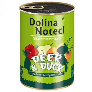 Dolina Noteci Superfood - Jeleň a kačica 400g DNP S.A. - 1