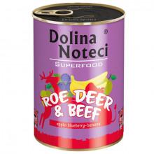 Dolina Noteci Superfood - Srnec a hovädzie 400g DNP S.A. - 2
